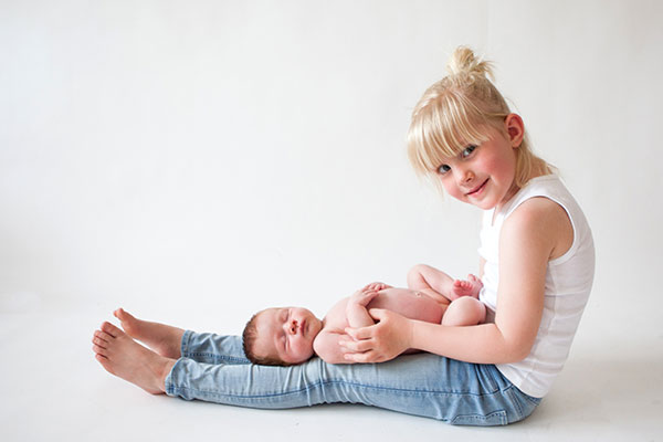 newborn fotoshoot leiden