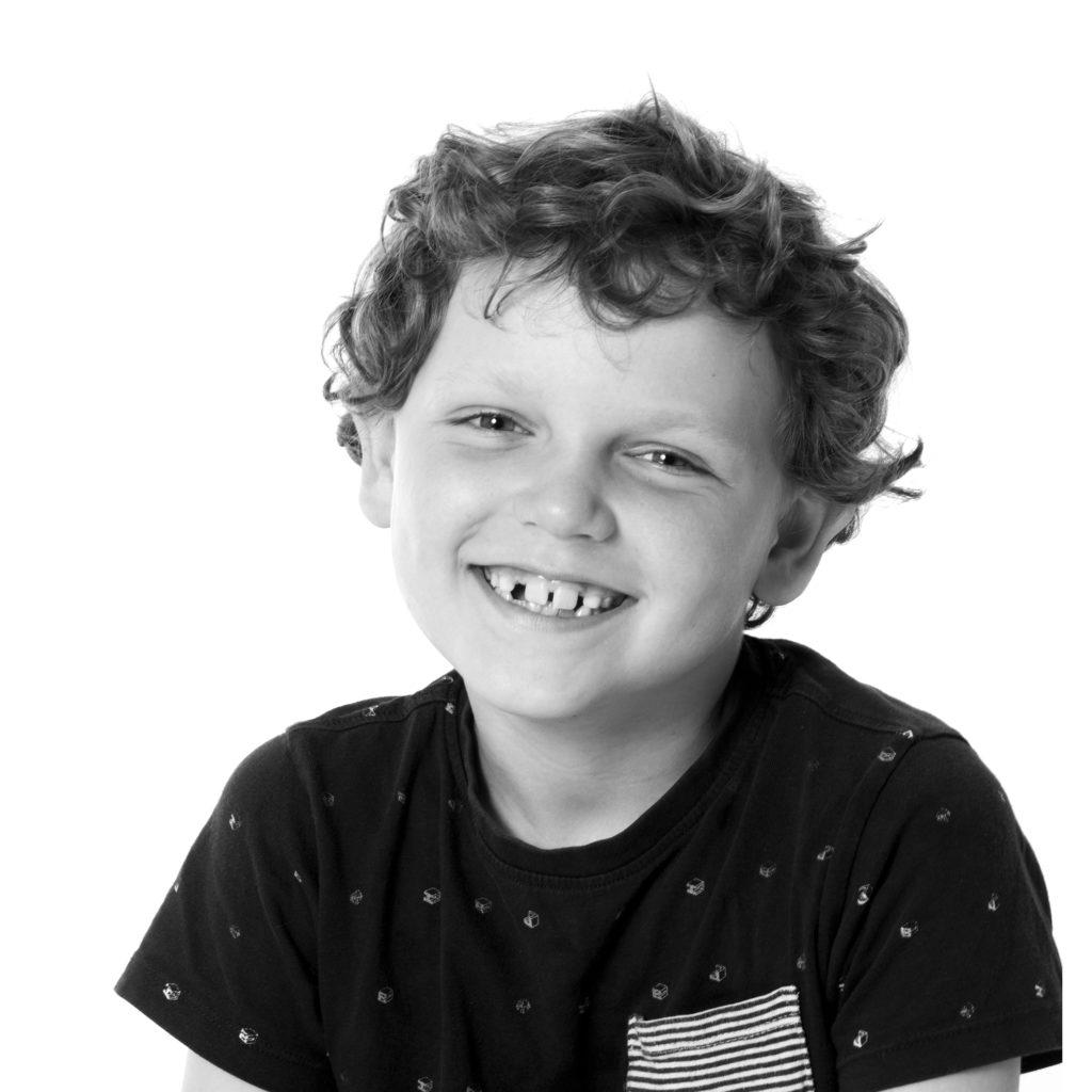 portretfoto jongen